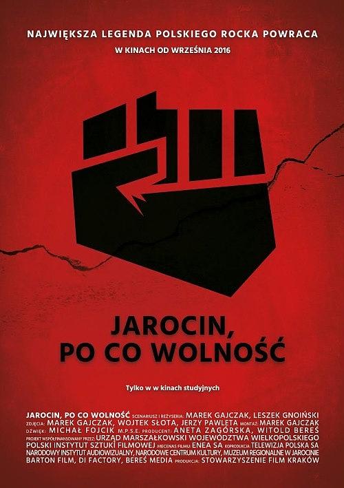 Plakat: Jarocin. Po co wolność