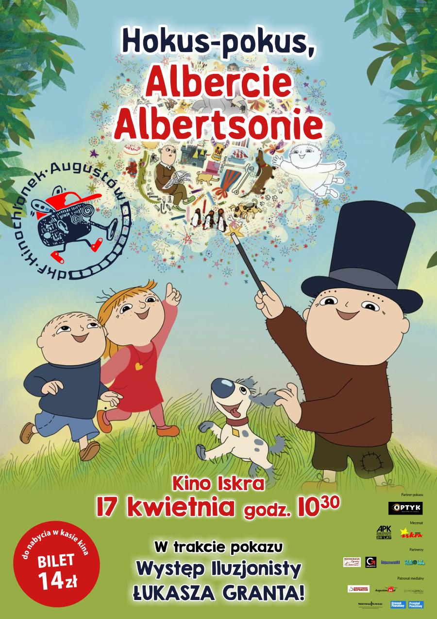 Plakat: Hokus-pokus, Albercie Albertsonie