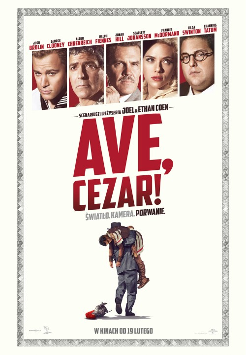 Plakat: Ave, Cezar!