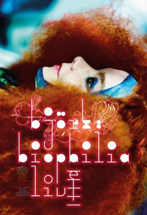 Plakat: Björk: Biophilia Live