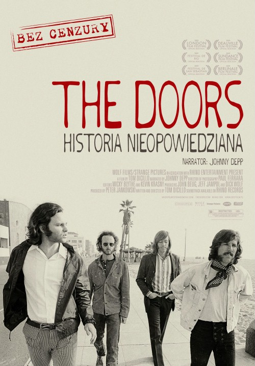 Plakat: The Doors – Historia nieopowiedziana