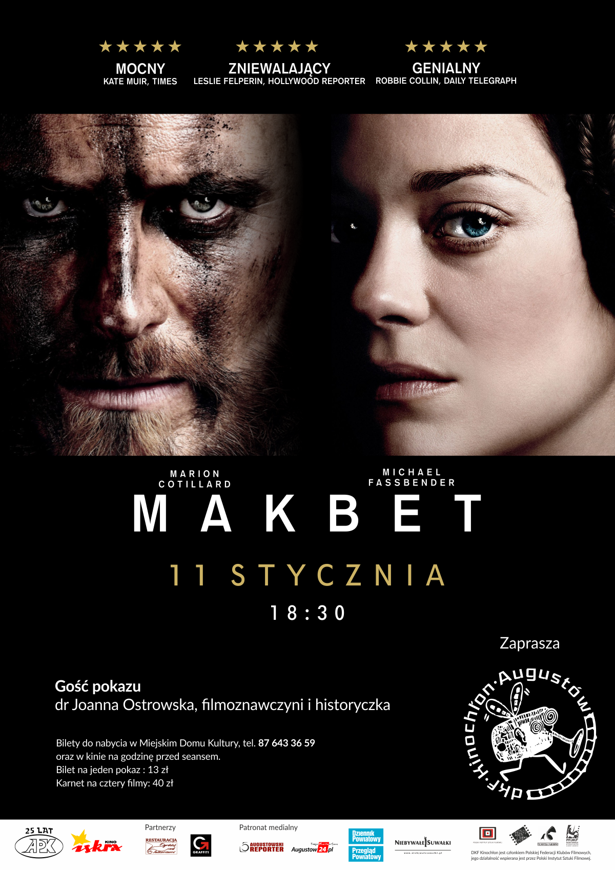 Plakat: Makbet