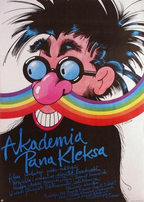 Plakat: Akademia Pana Kleksa