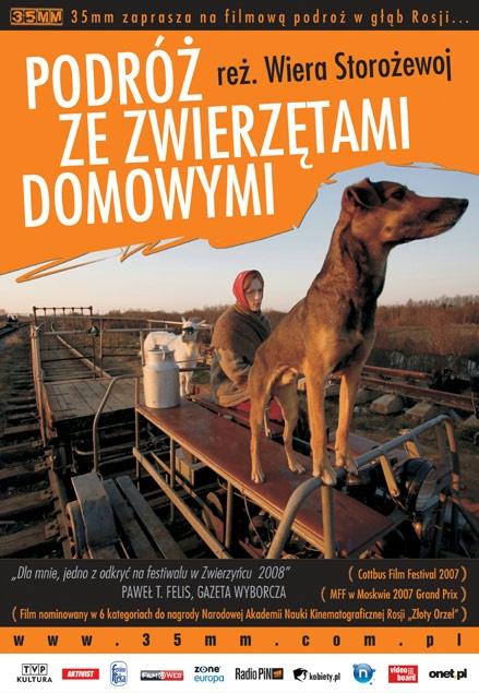 Plakat: Podróż ze zwierzętami domowymi