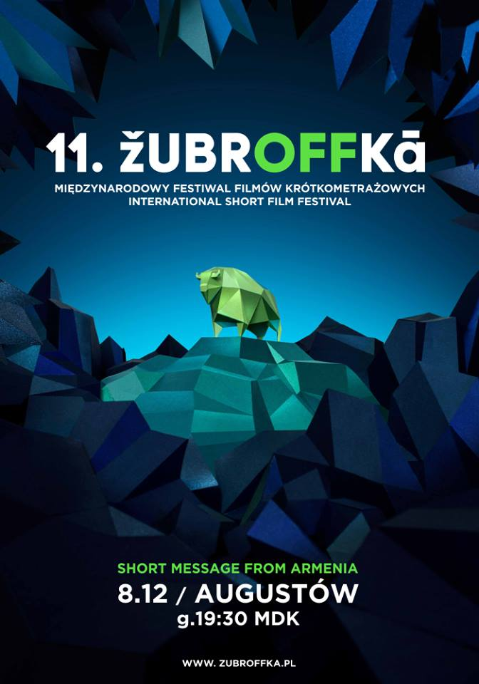 Plakat: ŻubrOFFka – short message from Armenia