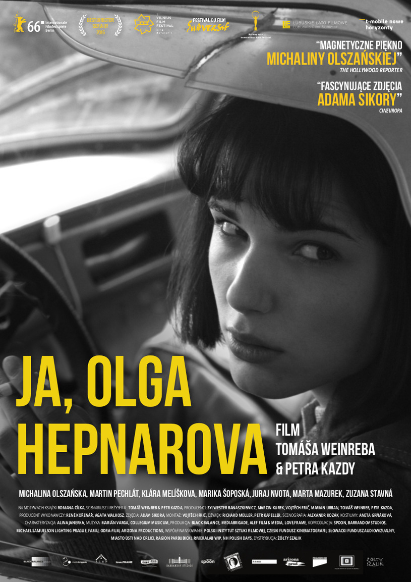 Plakat: Ja, Olga Hepnarova