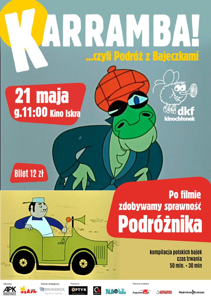 Plakat: Karramba! czyli podróż z bajeczkami
