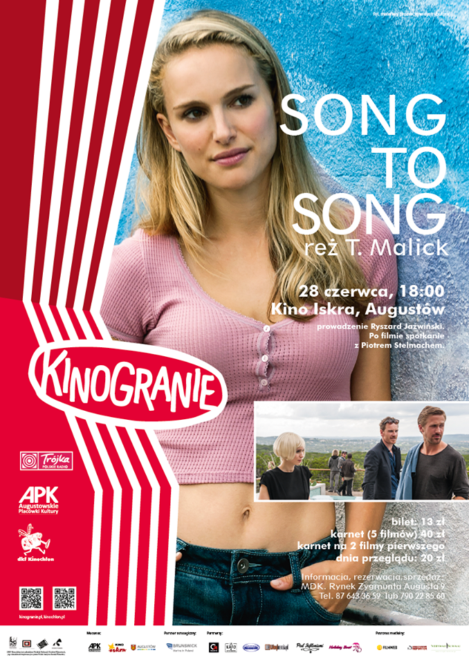 Plakat: Song to Song