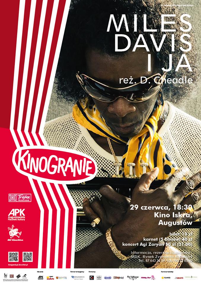 Plakat: Miles Davis i ja