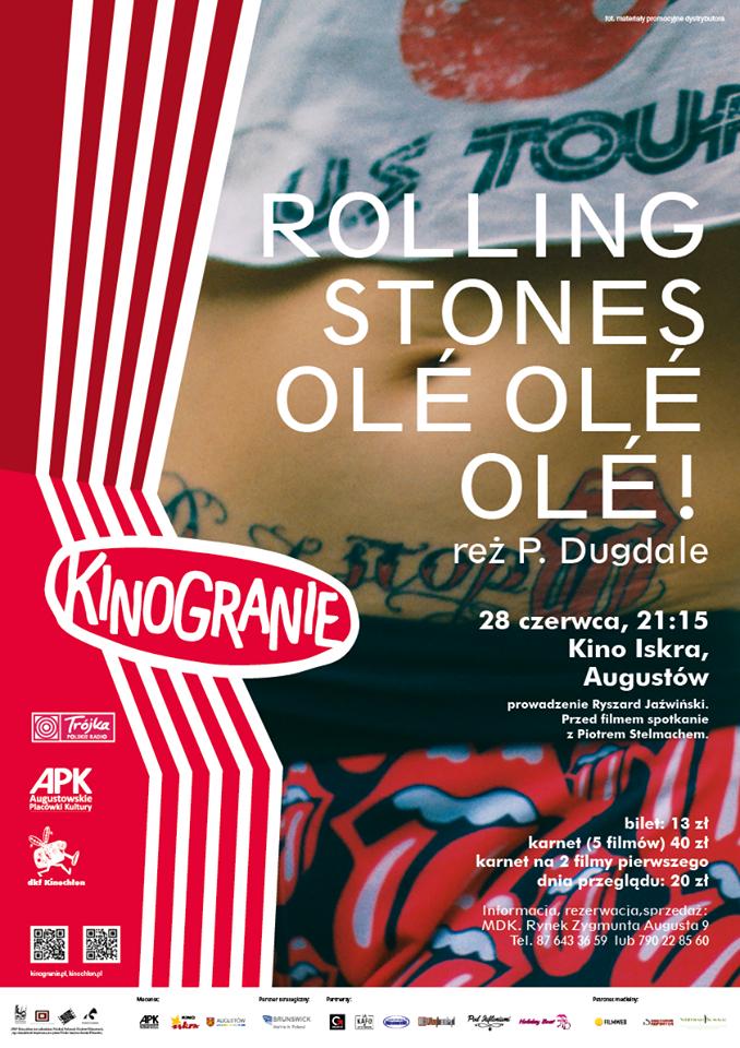 Plakat: Rolling Stones O'le, ole, ole