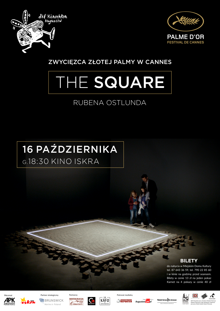 Plakat: The Square