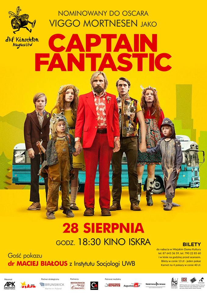 Plakat: Captain Fantastic