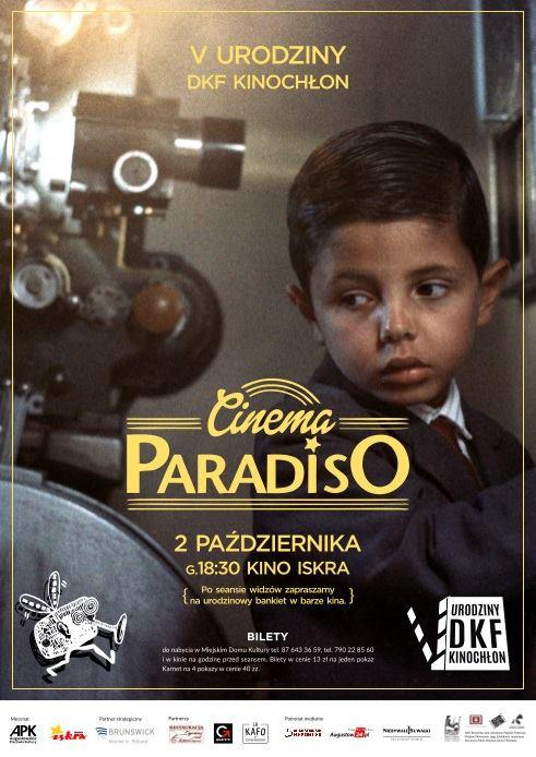 Plakat: Cinema Paradiso