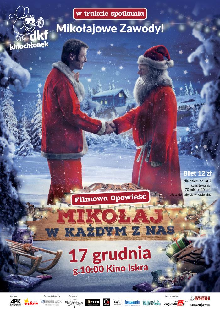 Plakat: Mikołaj w każdym z nas