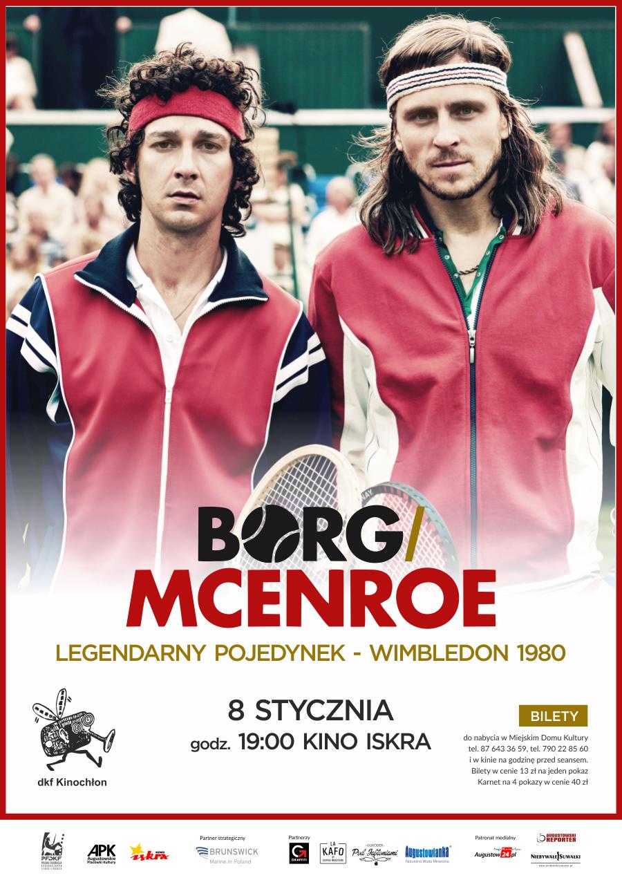 Plakat: Borg/McEnroe