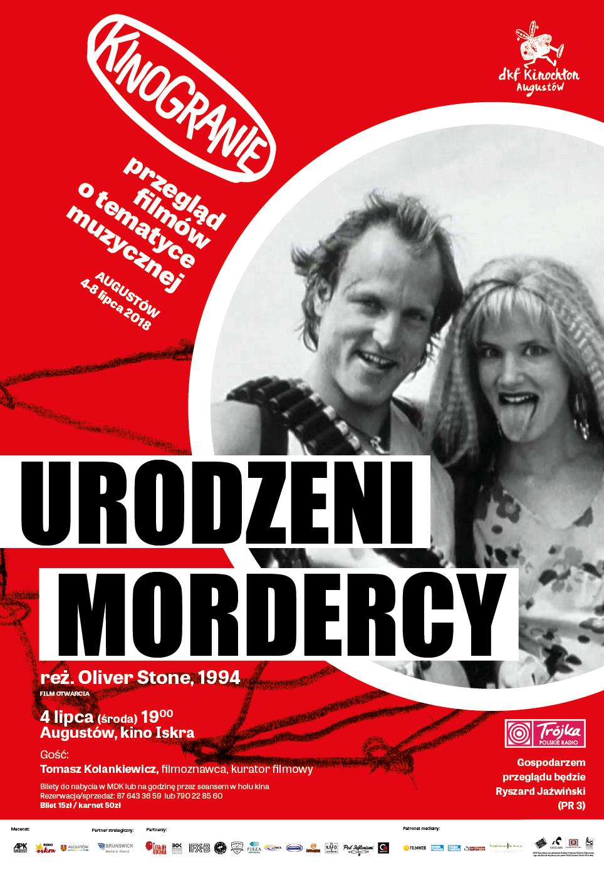 Plakat: Urodzeni mordercy