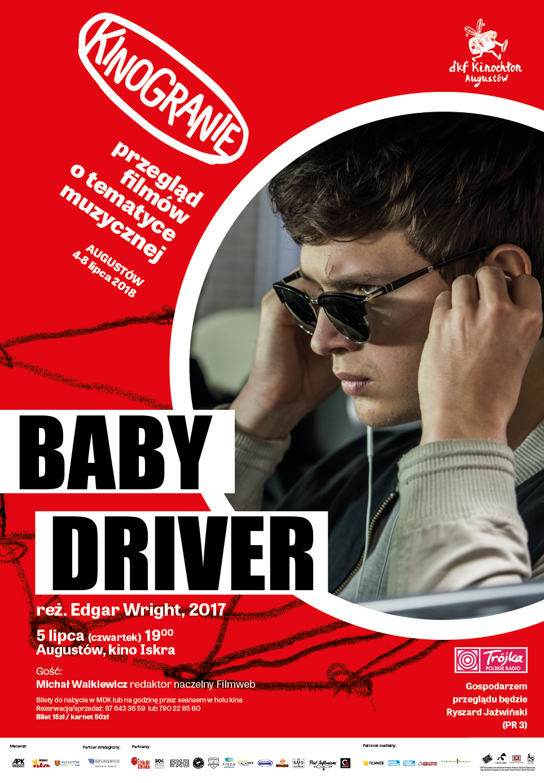 Plakat: Baby Driver