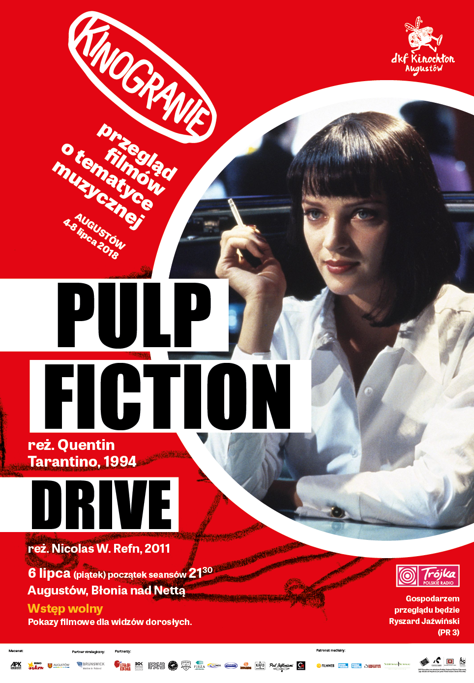 Plakat: Pulp Fiction
