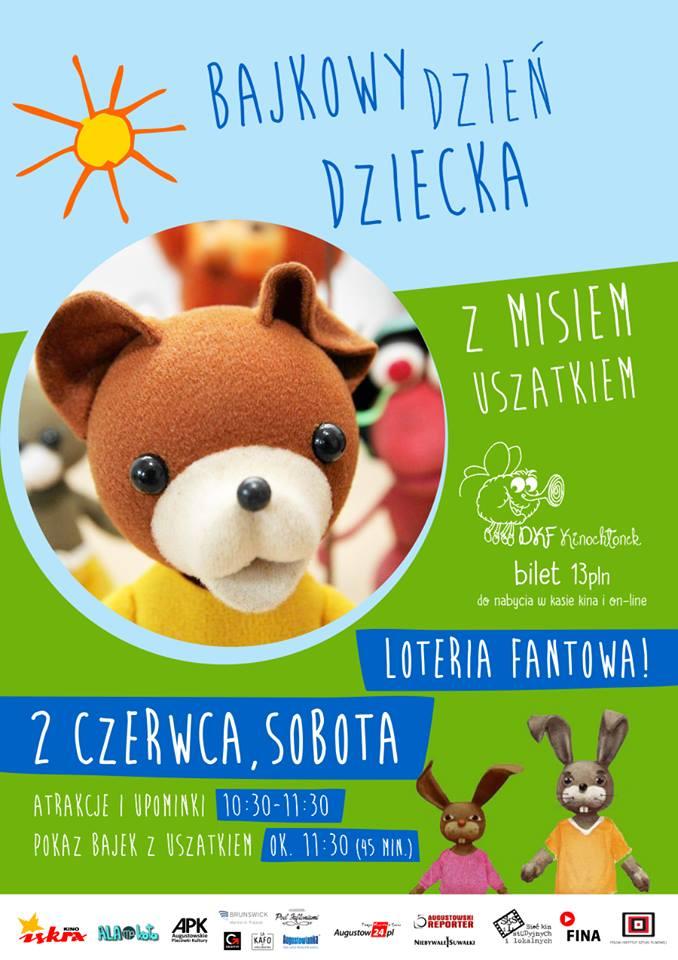 Plakat: Miś Uszatek