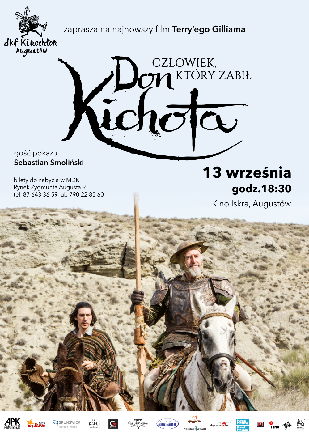 Plakat: Człowiek, który zabił Don Kichota
