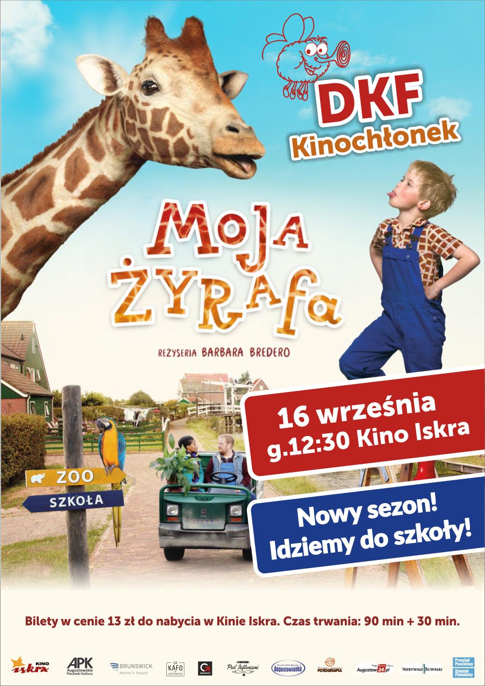 Plakat: Moja żyrafa