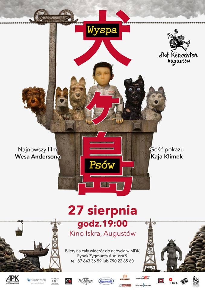 Plakat: Wyspa psów