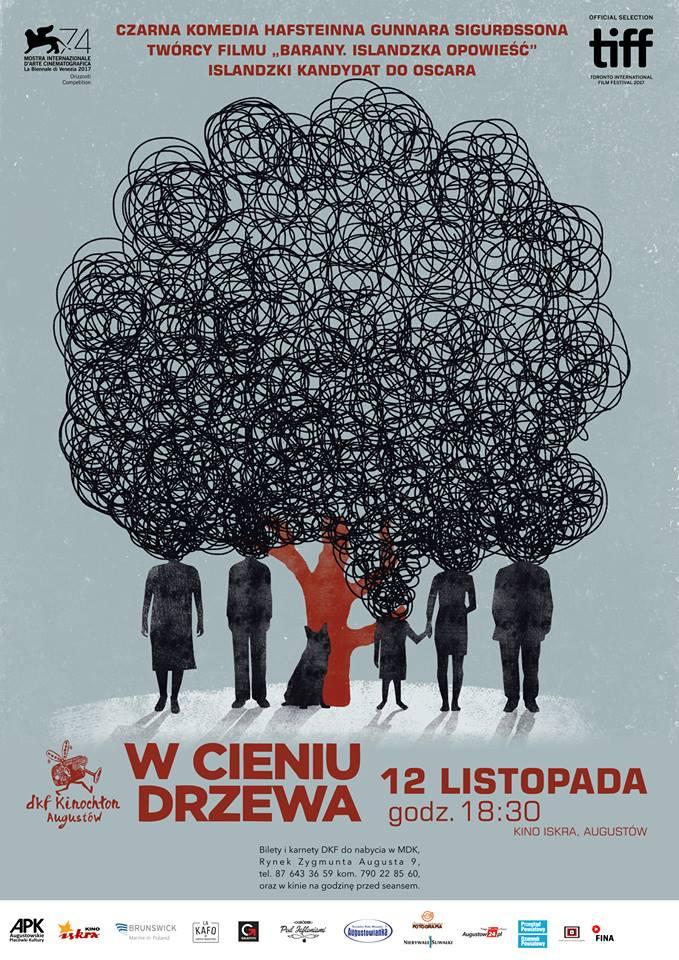 Plakat: W cieniu drzewa