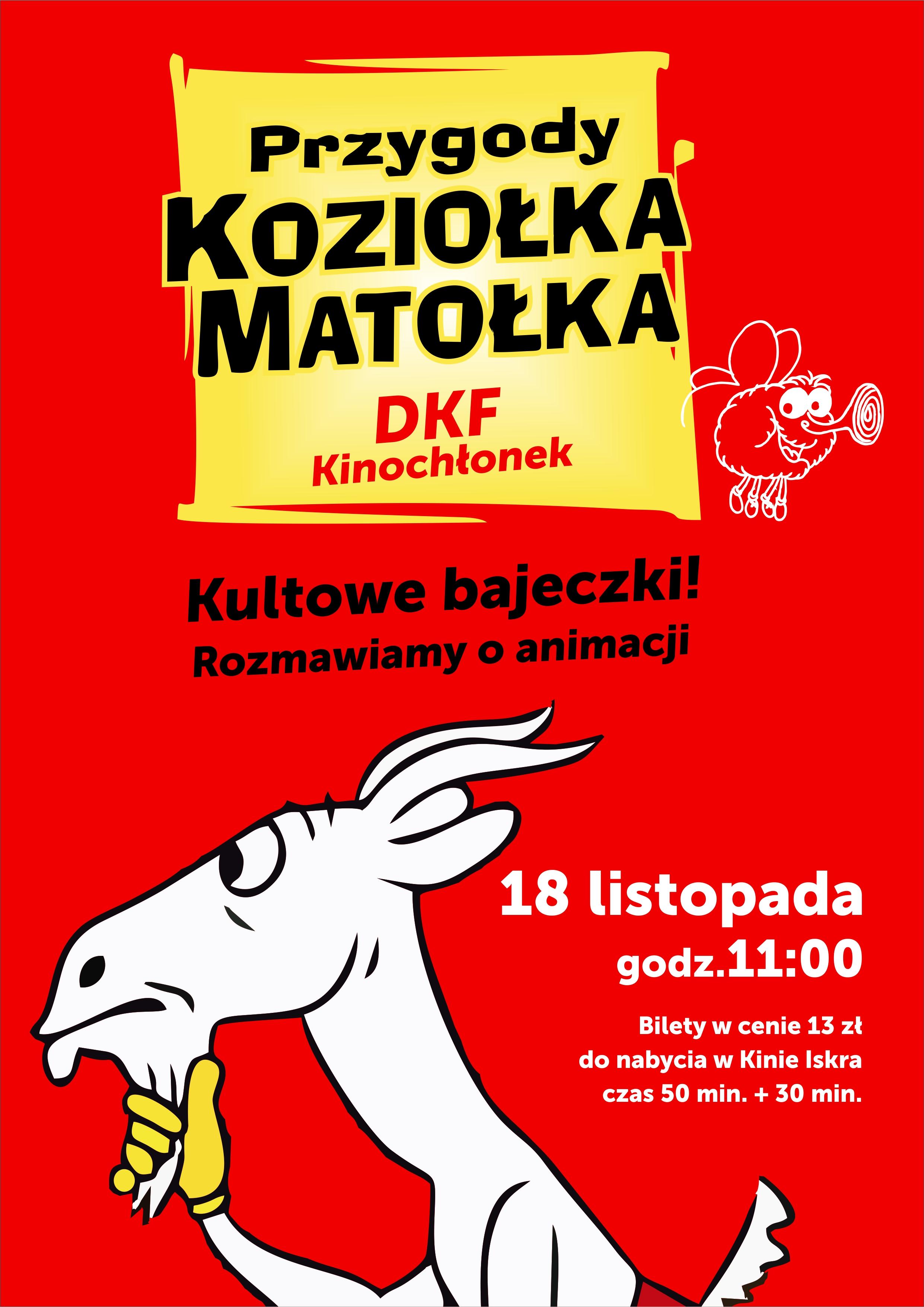 Plakat: Dziwne przygody Koziołka Matołka
