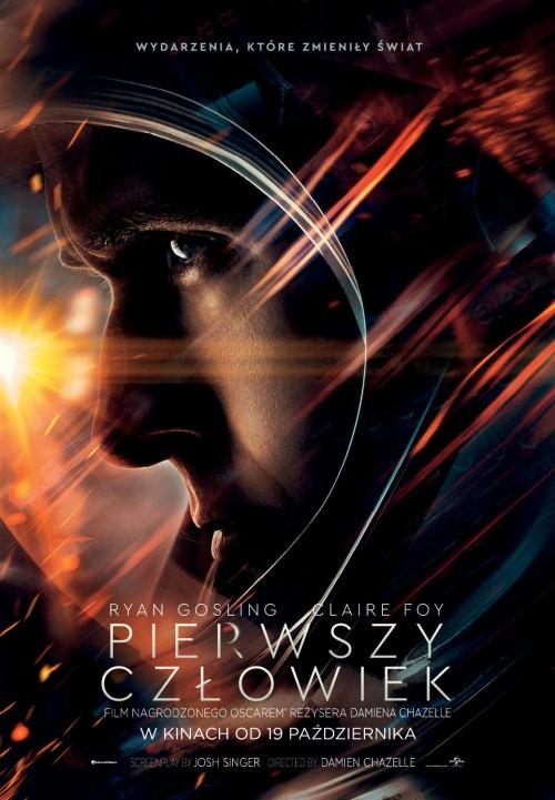Plakat: Pierwszy człowiek