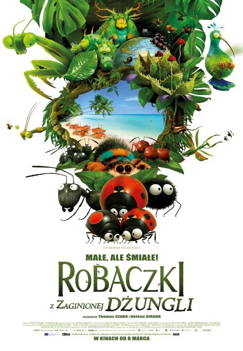 Plakat: Robaczki z Zaginionej Dżungli