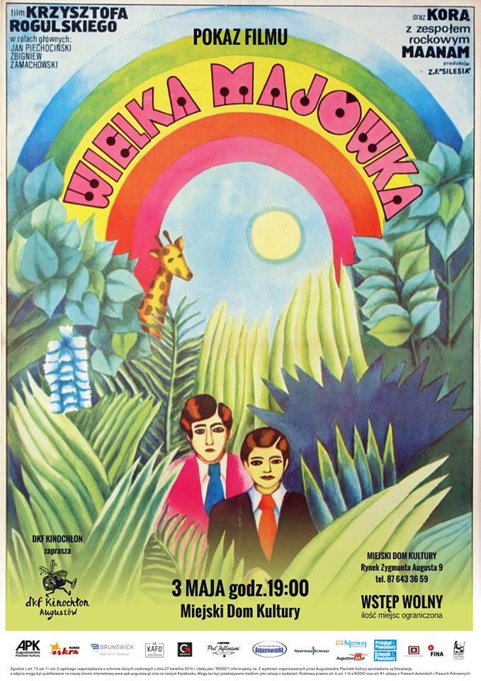Plakat: Wielka majówka
