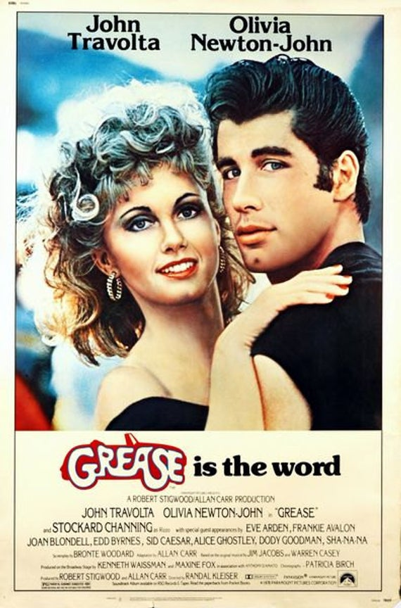 Plakat: Grease