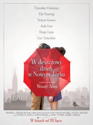 Plakat: W deszczowy dzień w Nowym Jorku