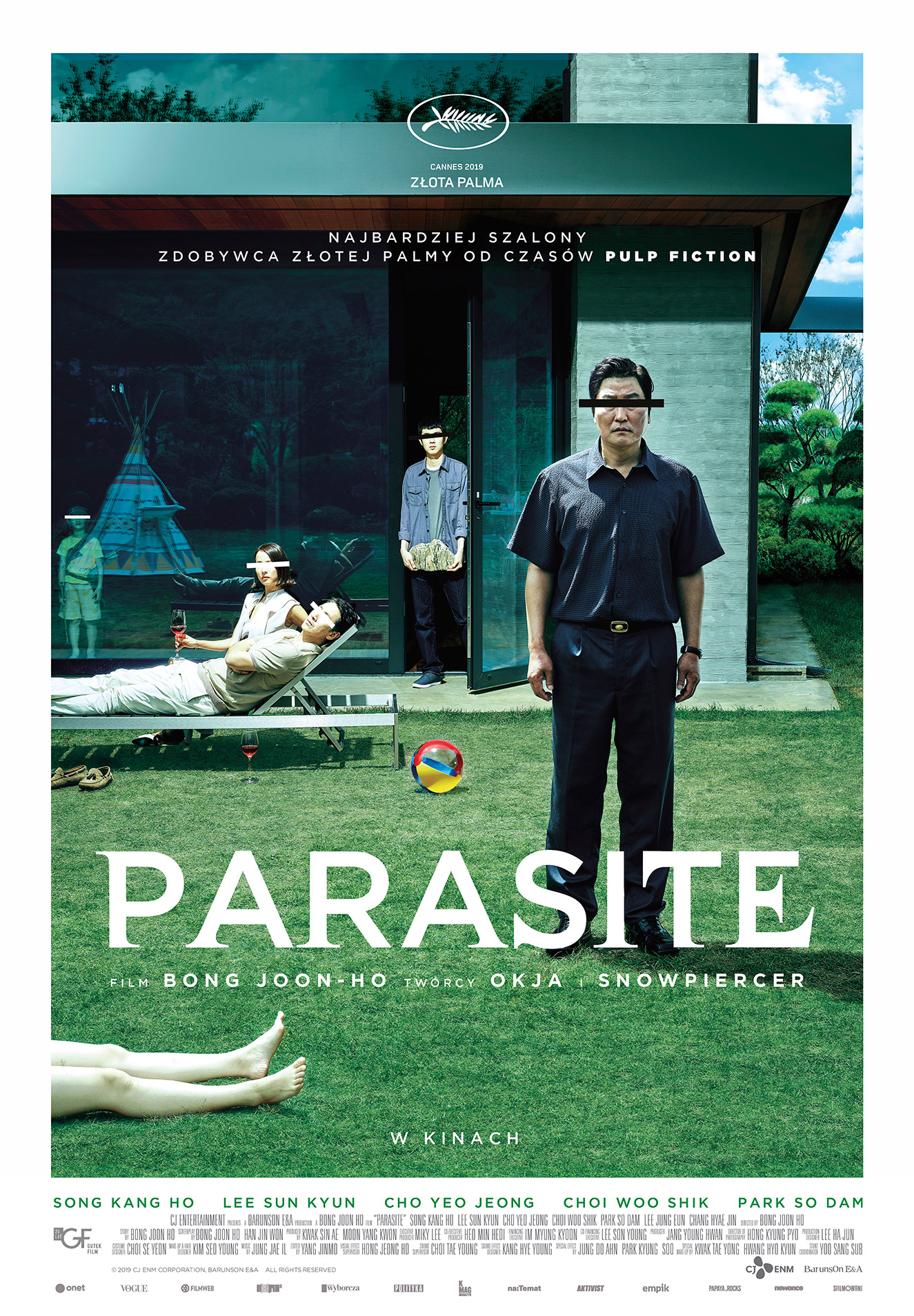 Plakat: Parasite