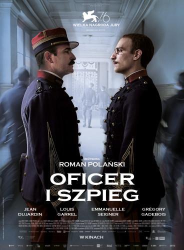 Plakat: Oficer i szpieg