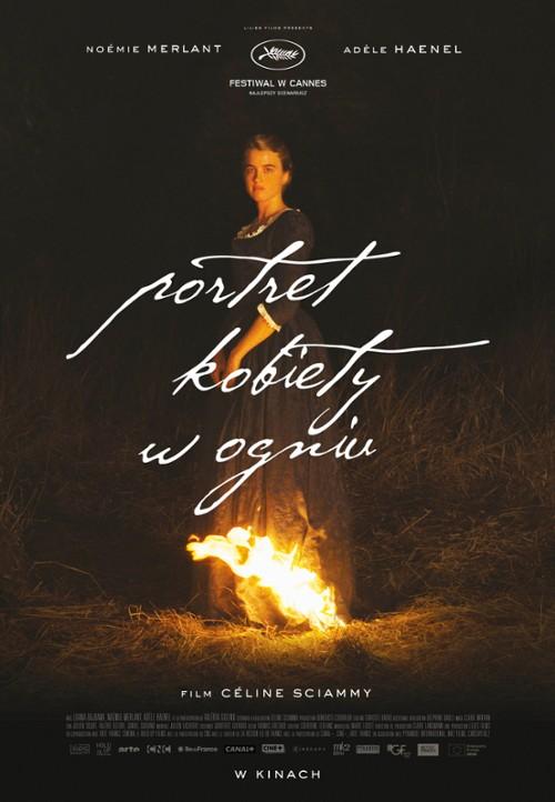 Plakat: Portret kobiety w ogniu