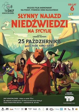 Plakat: Słynny najazd niedźwiedzi na Sycylię