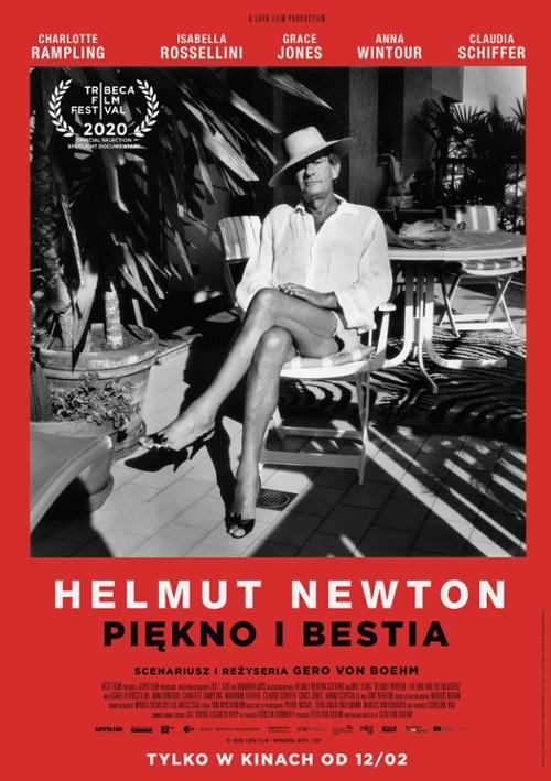 Plakat: Helmut Newton. Piękno i bestia
